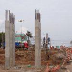 EGR avança em obra de viaduto na ERS-040 em Viamão