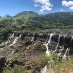 Comitiva da Secretaria do Meio Ambiente e da Fepam visita central hidrelétrica na serra